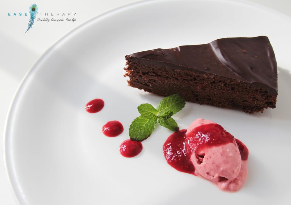 Bécsi csokoládé torta baracklekvárral