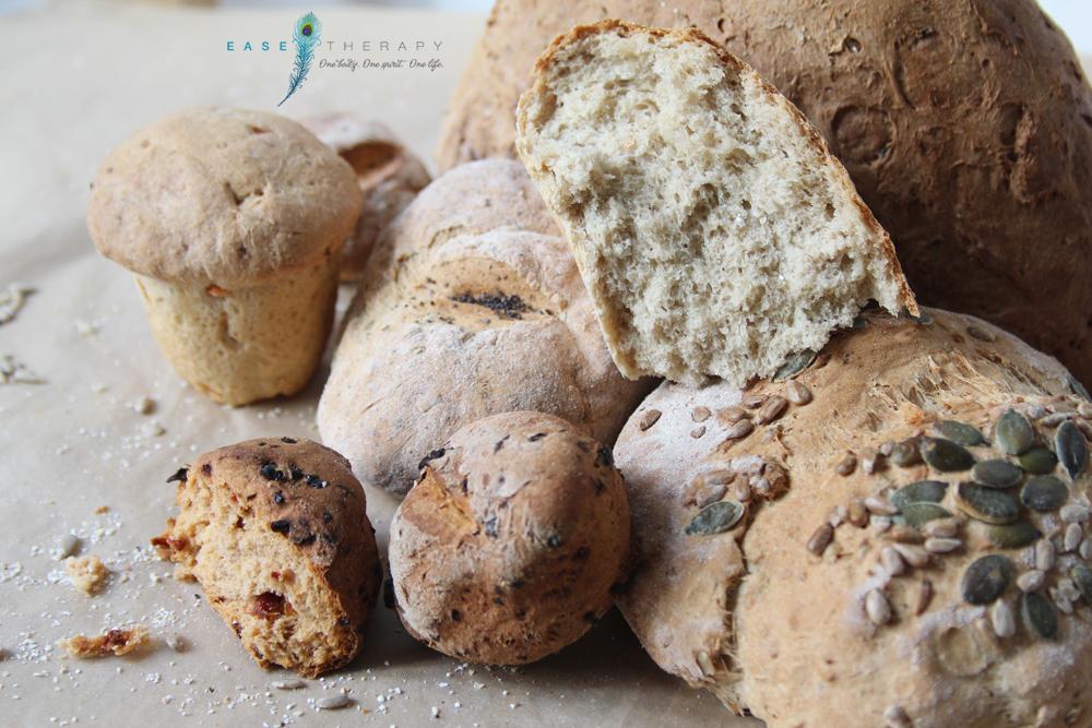 Házi kenyerek Ease Therapy házi finomságok főzőklub